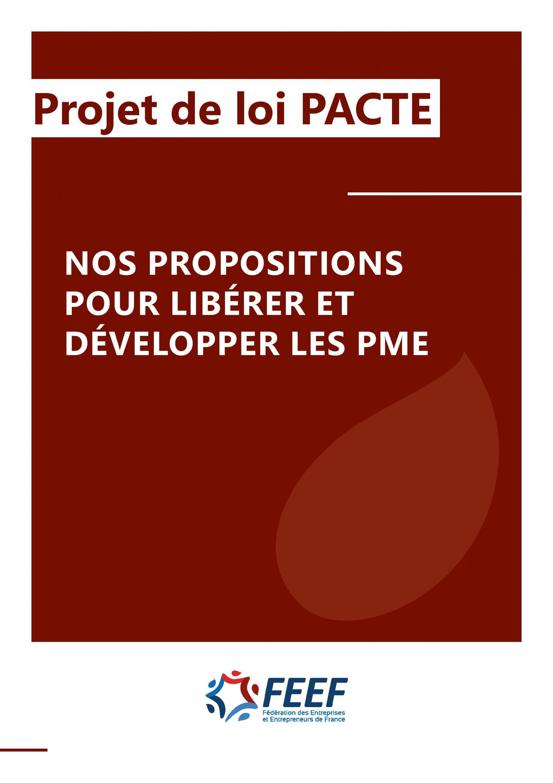 Projet de loi Pacte