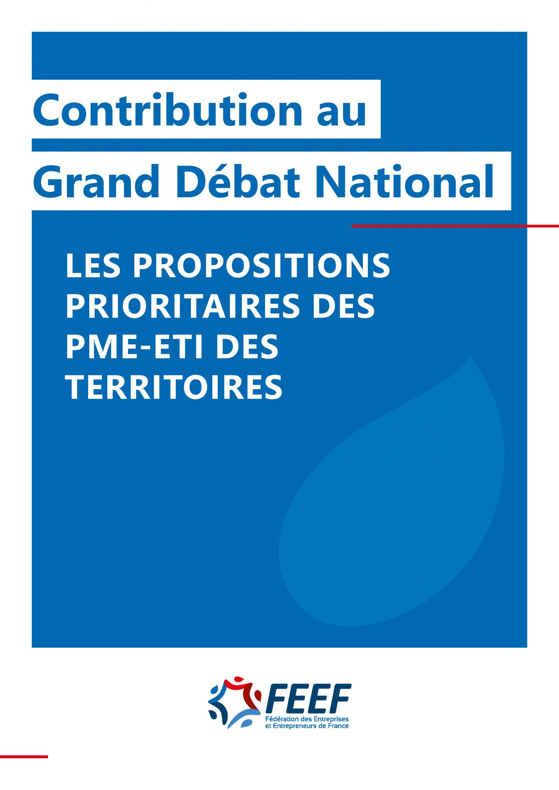 Contribution au Grand Débat National
