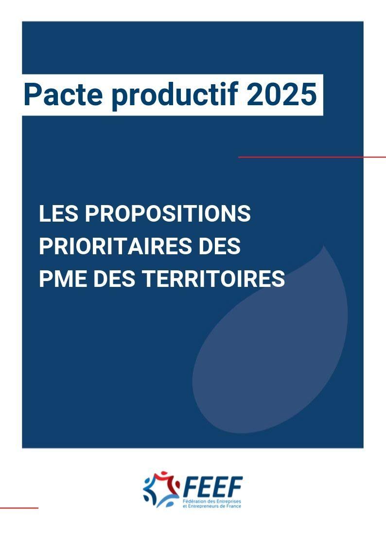 Pacte productif 2025