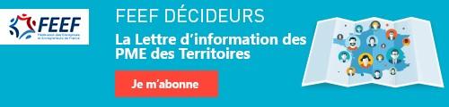 Inscrivez-vous à La lettre d'info des PME des Territoires